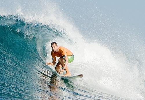 Carlos García Suárez entrenador personal de surf