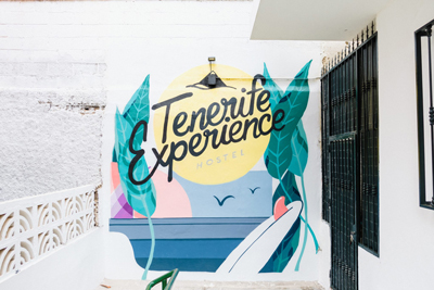 Logotipo Tenerife Experience Hostel